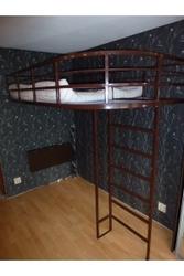 Удобная кровать с лестницей