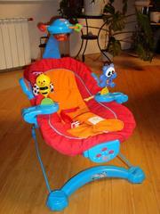 Продаётся кресло-шезлонг для малыша от рождения и до полугода